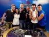 Alessio e Sara con Mirco Realdini a Radio Italia