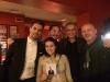 Da sx: Giovanni Caccamo, Alessio Zini, Stefano Nanni, Alessandro Caspoli, Sara Casali