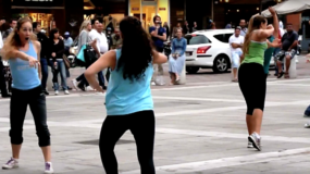 c'è bisogno di una squadra verdi note flashmob