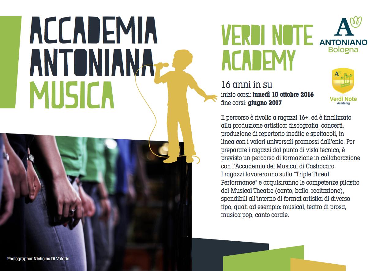 Verdi Note Academy - Brochure e iscrizioni